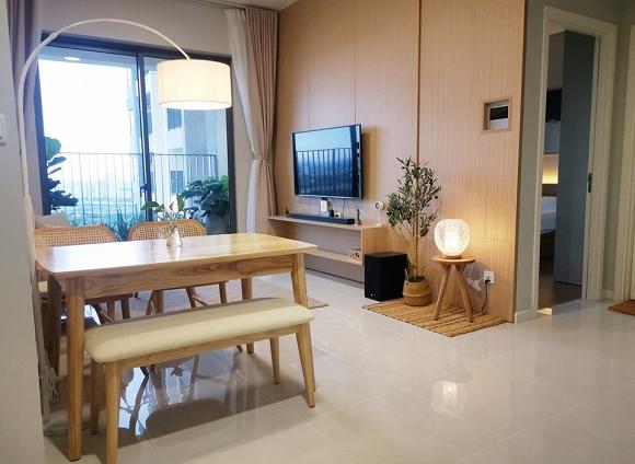 4.Không gian thoáng mát bên trong căn hộ mới của Hoa hậu Trần Thị Quỳnh2