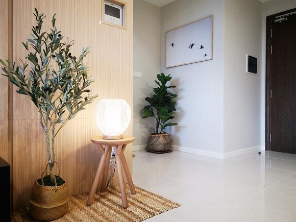4.Không gian thoáng mát bên trong căn hộ mới của Hoa hậu Trần Thị Quỳnh3