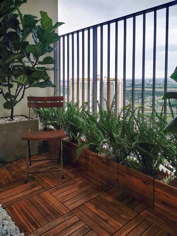 4.Không gian thoáng mát bên trong căn hộ mới của Hoa hậu Trần Thị Quỳnh7