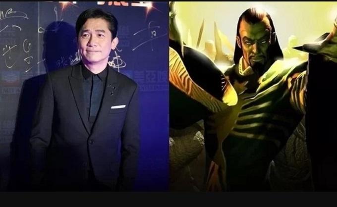 Lương Triều Vỹ là diễn viên người Hoa đầu tiên gia nhập phim Marvel, với vai The Mandarin.