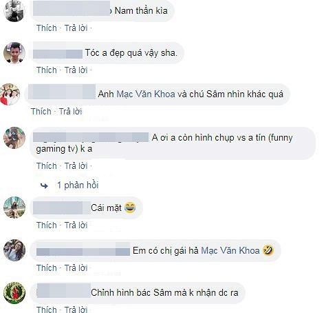 Dân mạng cho rằng Mạc Văn Khoa dùng app chỉnh sửa khiến MC Lại Văn Sâm trông khác lạ.