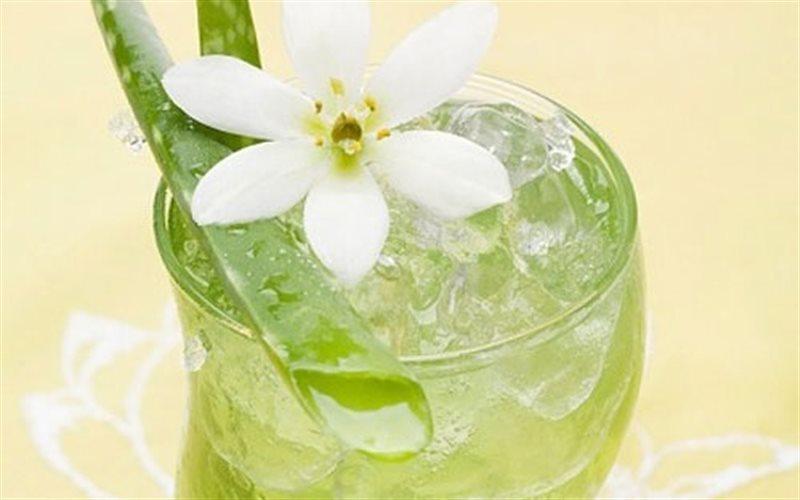 6. giảm cân cùng nha đam-nước ép nha đam