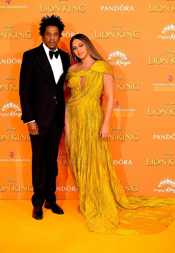 Beyoncé tại buổi ra mắt phim The Lion King – LonDon