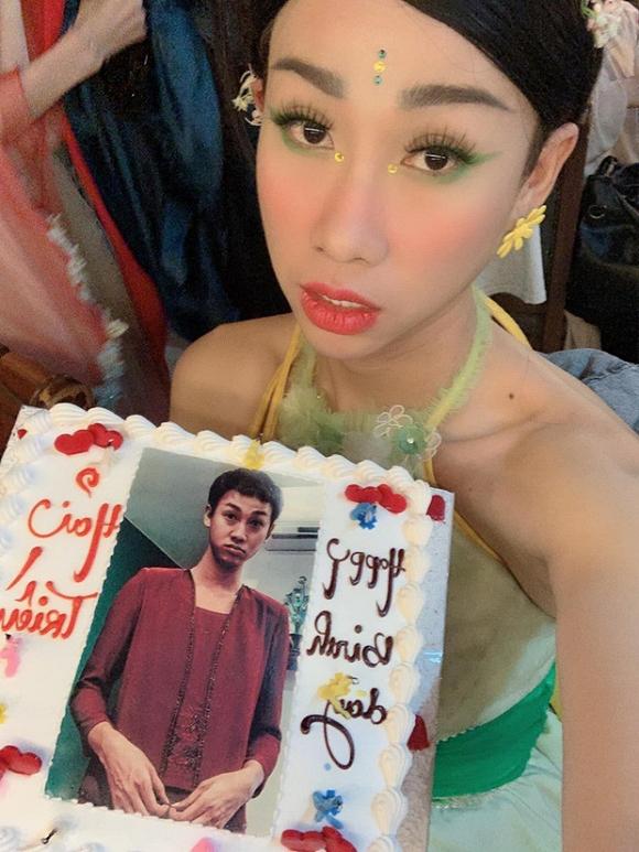 """Chiếc bánh sinh nhật """"có một không hai"""" Hải Triều được nhận"""