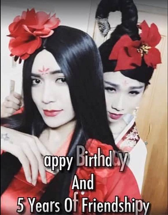 Sinh nhật Hải Triều cũng là ngày kỉ niệm tình bạn 5 năm với BB Trần
