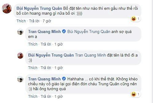 BTV Quang Minh hoang mang nhờ ca sĩ Tuấn Hưng đánh giá về con trai vì lý do này5