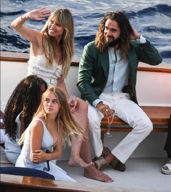 Heidi Klum và chồng trẻ đến Italy cưới lần hai
