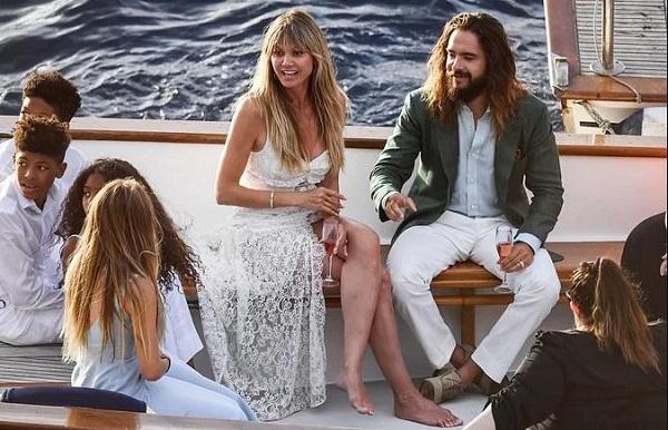 Heidi Klum và chồng trẻ đến Italy cưới lần hai1