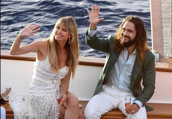Heidi Klum và chồng trẻ đến Italy cưới lần hai2