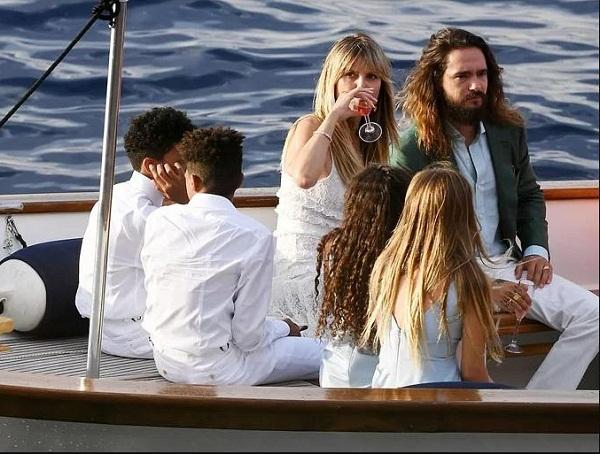 Heidi Klum và chồng trẻ đến Italy cưới lần hai3