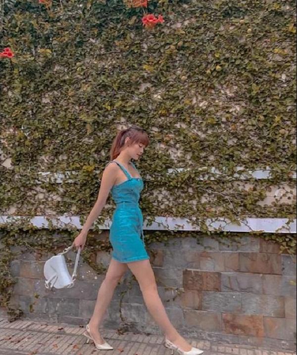 sao việt mặc váy ngắn khoe chân thon2