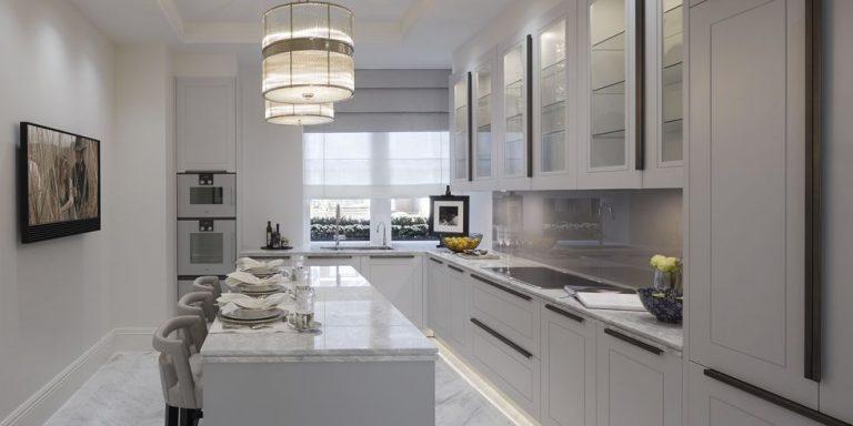 Không gian bếp hiện đại giúp người nội trợ dễ dàng hơn trong công việc thường ngày.