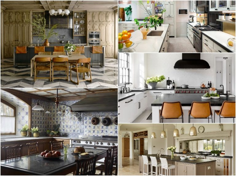 Những mẫu thiết kế phòng bếp nhà biệt thự sang trọng