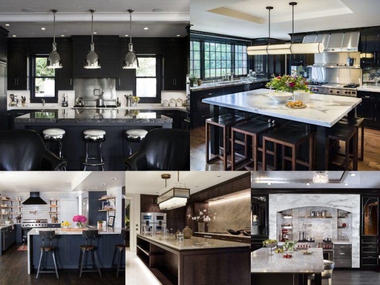 Gam màu trung tính luôn mang tới cho căn phòng sự bí ẩn nhưng đầy sự ấm áp cho không gian bếp