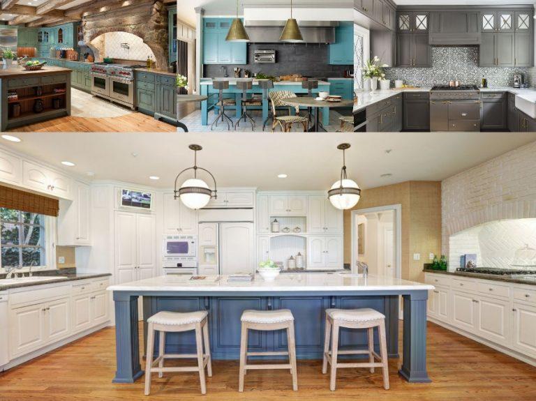 Mẫu thiết kế phòng bếp nhà biệt thự cao cấp sang trọng Châu Âu