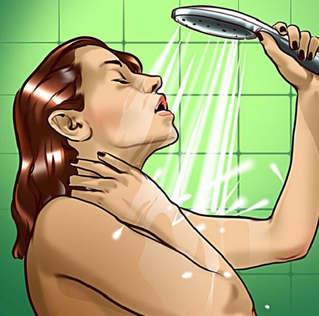 Không tắm  Tắm sau khi tập luyện cũng là một cách hữu hiệu để thư giãn cơ bắp. Tuy nhiên, bạn không nên tắm ngay mà nên chờ ráo mồ hôi, thân nhiệt trở về mức bình thường mới tắm.