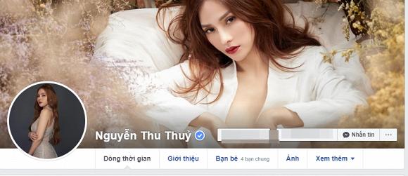 Khi mở lại facebook, cô đổi ảnh đại diện thành ảnh cá nhân thay vì ảnh vợ chồng như trước