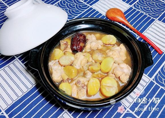 11. súp gà nấu hạt dẻ17
