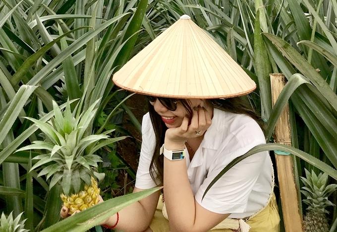 14. 'Sống ảo' ở nông trại dứa Ninh Bình1