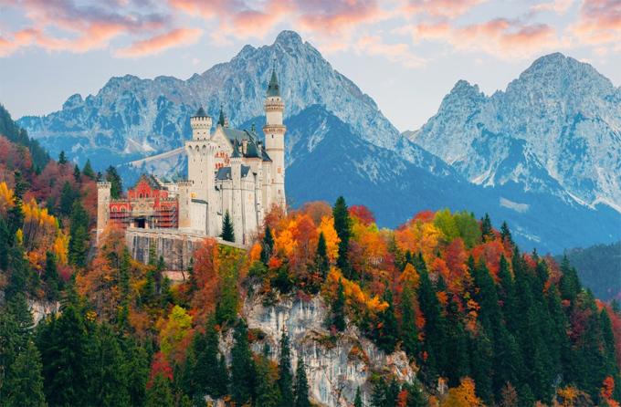 Bức tranh quyến rũ của mùa thu ở châu Âu.