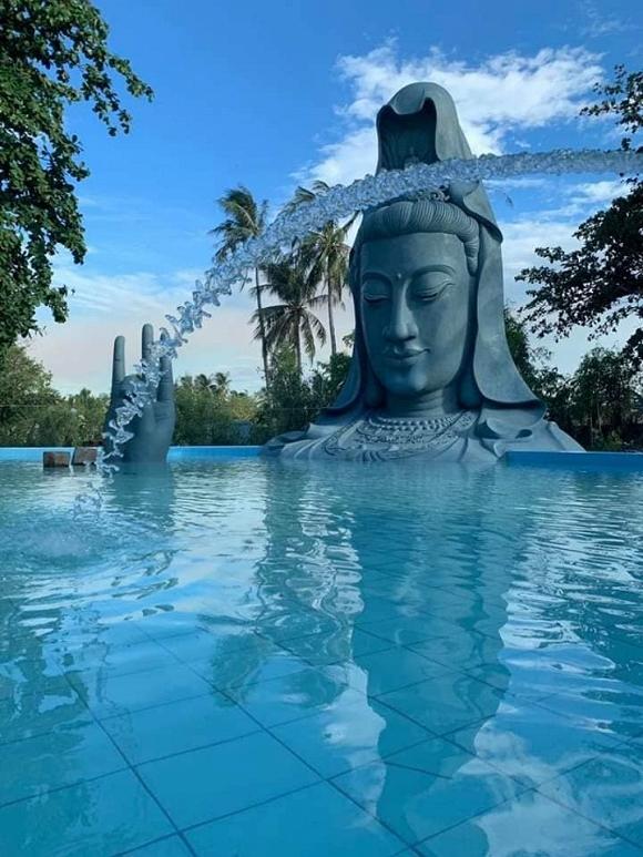 22. Tượng Quan Âm dưới nước khổng lồ lần đầu xuất hiện tại Việt Nam2