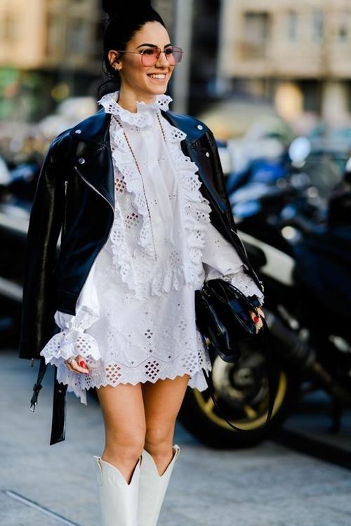 4. 4 lý do nên mặc màu trắng mùa mát4