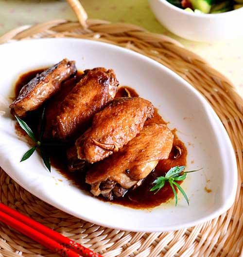 4. Cánh gà om xì dầu món ngon lạ miệng đưa cơm phải biết