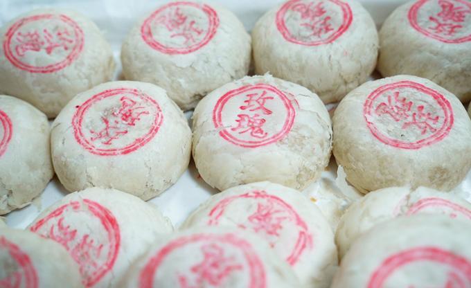4.Bánh Trung thu trắng đặc sản Bắc Kinh