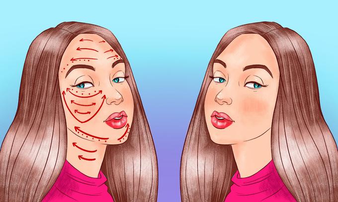 Đầu tiên, bạn cần làm sạch da rồi thoa một lớp dầu massage chuyên dụng hoặc có thể dùng kem dưỡng da sẵn có.