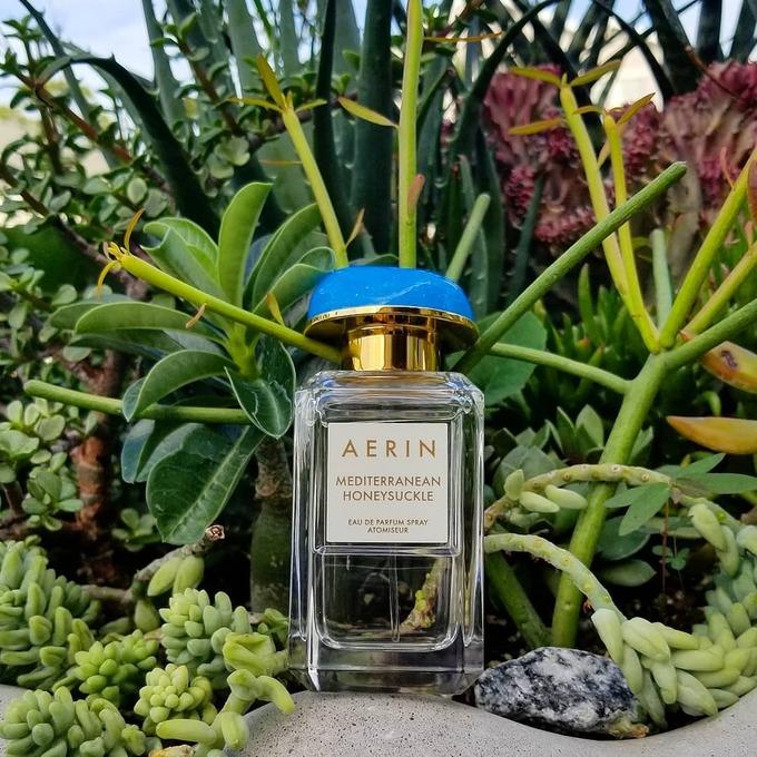 Aerin Mediterranean Honeysuckle được sáng chế dựa trên cảm hứng về kỳ nghỉ hè nơi bờ biển Địa Trung Hải với các nốt hương ngọt ngào từ bưởi, cảm bergamot, vỏ quýt… Sản phẩm có độ lưu hương và tỏa hương ở mức trung bình, phù hợp sử dụng hàng ngày.  Giá tham khảo: 4.300.000 đồng