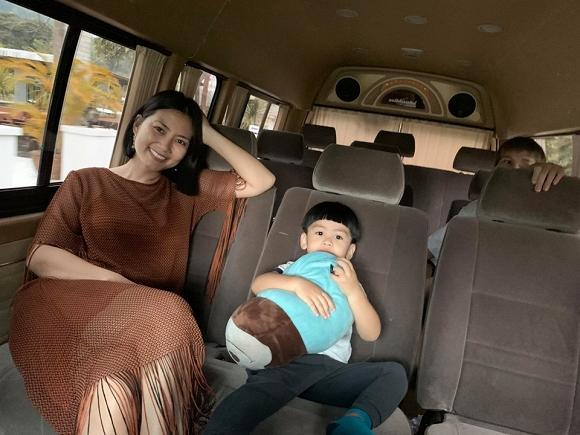 Ngọc Lan và con trai Louis 'đánh lẻ' du lịch Thái Lan1