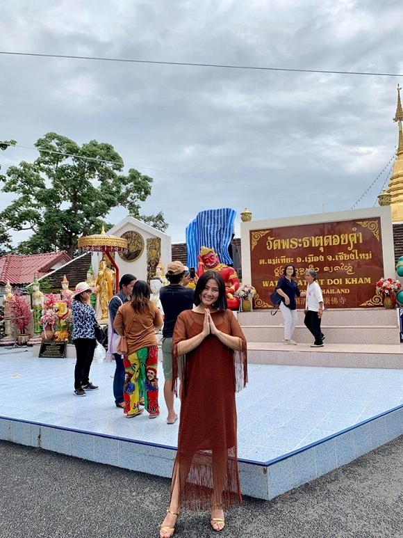 Ngọc Lan và con trai Louis 'đánh lẻ' du lịch Thái Lan2