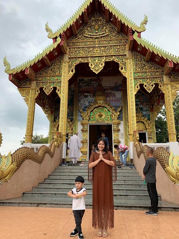 Ngọc Lan và con trai Louis 'đánh lẻ' du lịch Thái Lan3