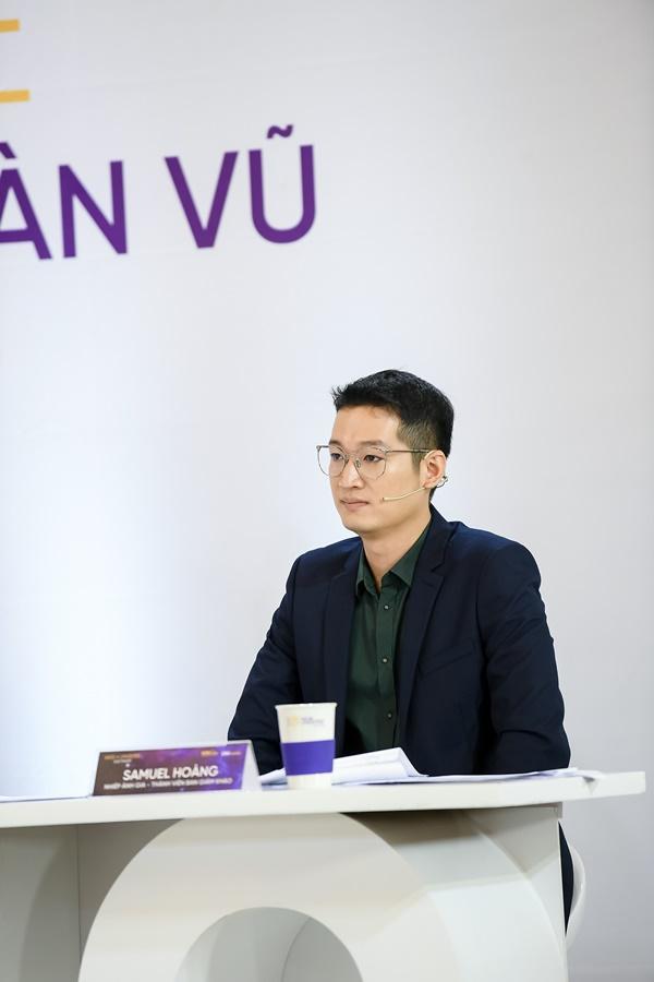 Giám khảo Samuel Hoàng