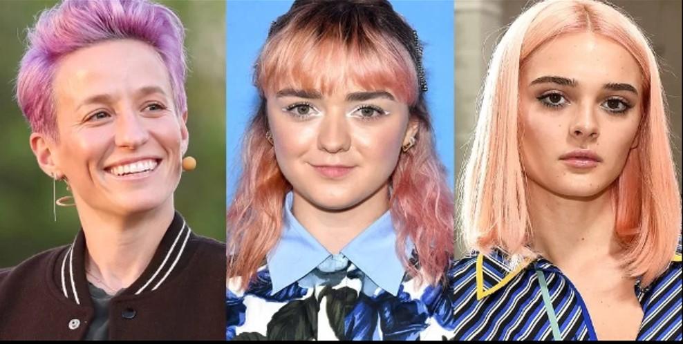 1. màu tóc trend thu đông 20192
