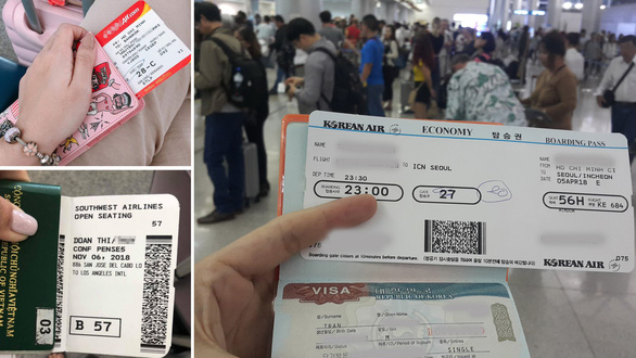 Muốn được dễ dàng cấp visa đến các nước như Anh, Mỹ, Nhật, Úc, châu Âu... thì trong hộ chiếu cần có lịch sử đến nhiều nước và trở về đúng hạn - Ảnh: GIA THÚY TRÂM