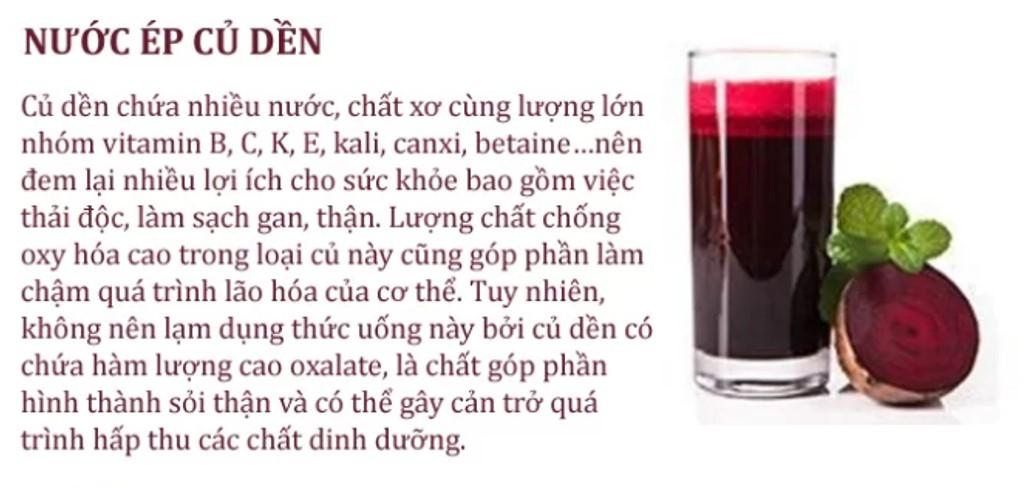 15. thức uống làm sạch sỏi thận2