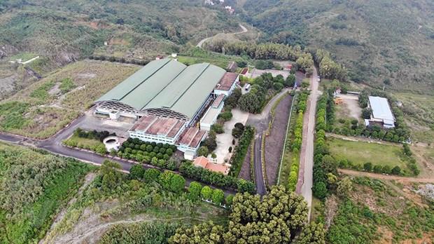 Toàn cảnh nhà máy nước sông Đà. (Ảnh: PV/Vietnam+)