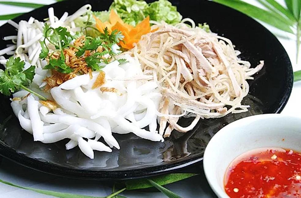 Bánh tằm Ngan Dừa nổi tiếng khắp vùng vì hương vị độc đáo. Ảnh: baclieu.tintuc