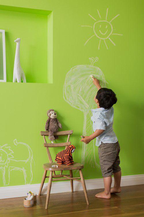 Dòng sơn dễ lau chùi là một lựa chọn hoàn hảo cho không gian sống trong lành.
