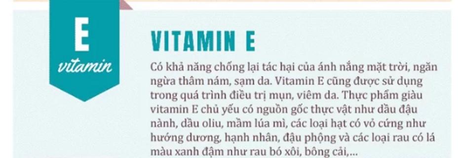 8. vitamin tốt cho làn da4