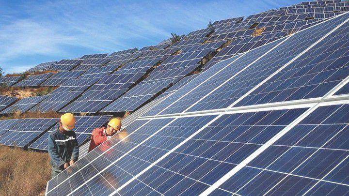 Các tấm pin năng lượng mặt trời