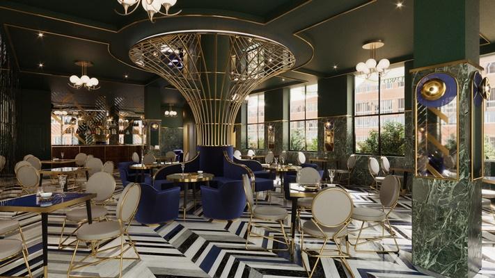 Brodard Restaurant - Tea House - Pastry 02