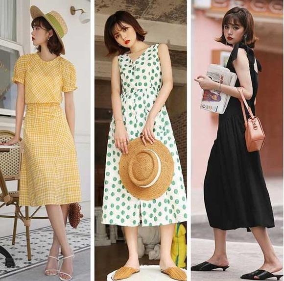 Cô nàng yêu thích vẻ đẹp dịu dàng, nữ tính thì hãy mau áp dụng những chiếc váy liền thân dáng dài. Style này không chỉ mang đến cho bạn sự duyên dáng mà còn che đi khuyết điểm của đôi chân chưa hoàn hảo.