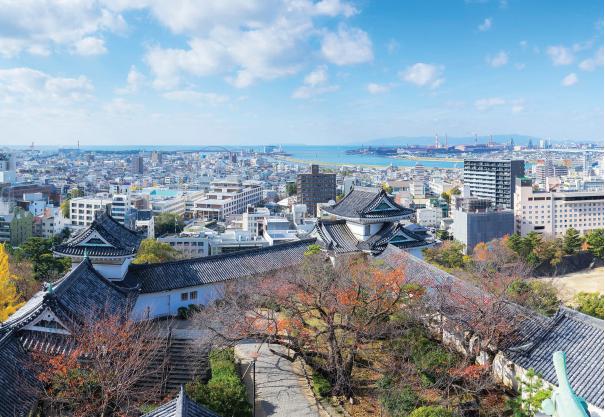 Osaka nhìn từ trên cao