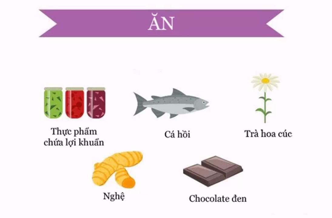 Những thực phẩm cần bổ sung để tránh căng thẳng