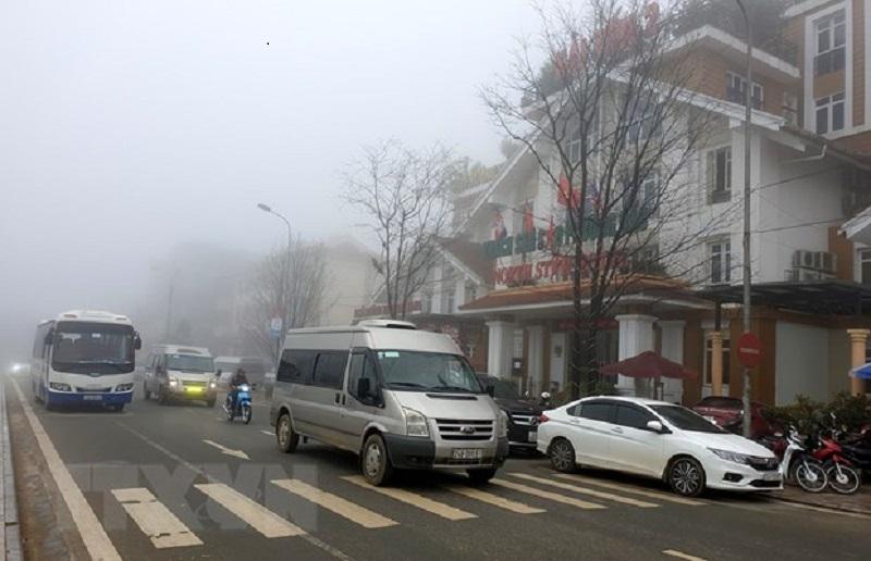 Không khí lạnh tại Sapa.