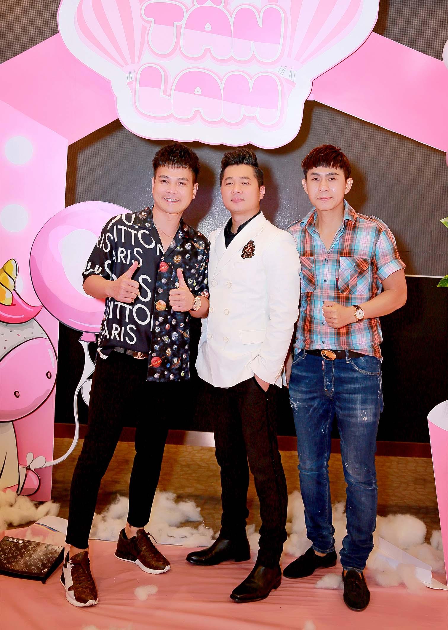 Bộ ba ngôi sao ca nhạc miền tây Lâm Vũ – Lâm Hùng – Châu Gia Kiệt hội ngộ