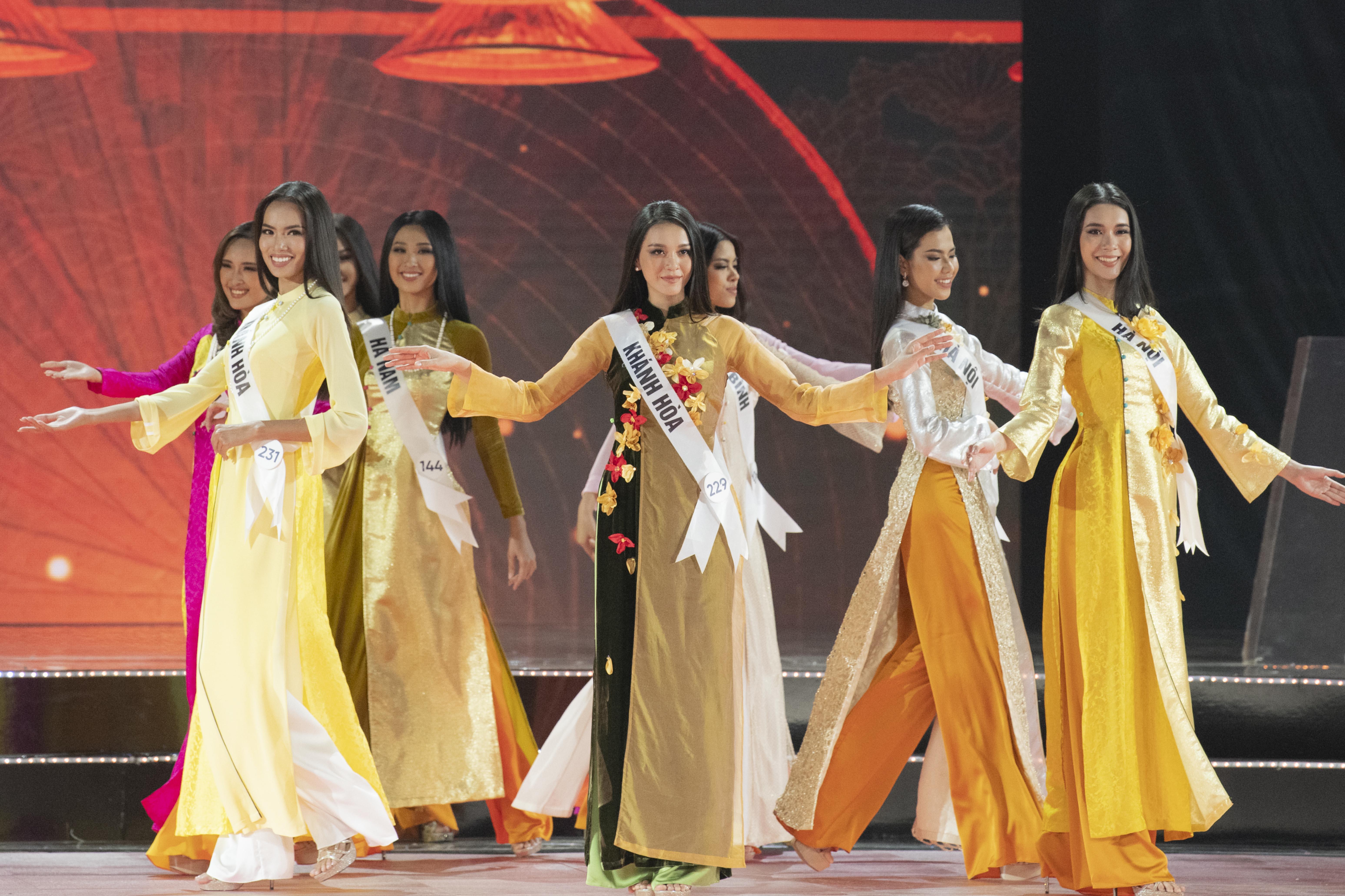 Chung kết HHHV Việt Nam 2019 sẽ không còn phần trình diễn áo dài