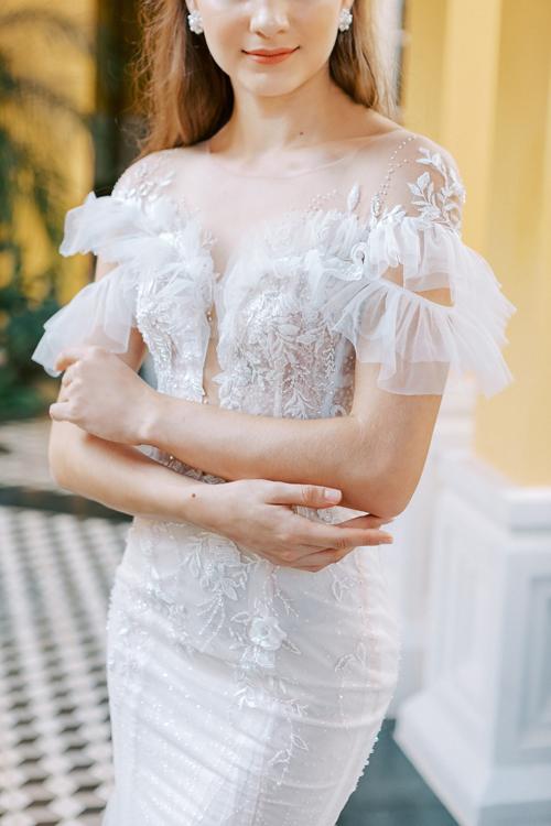 3. Váy cưới dành cho hôn lễ ở biển7